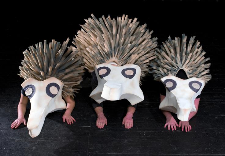 Costumes on stage - Hedgehog