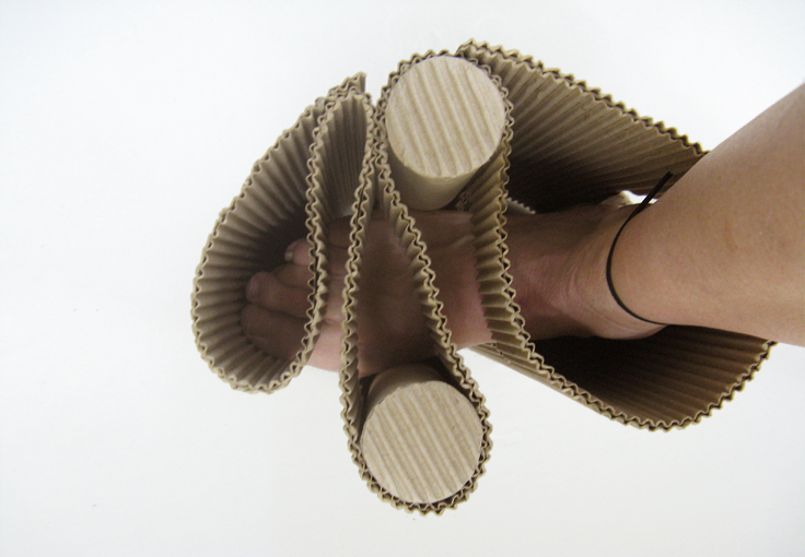 Conceptual design - There is no sandal without me