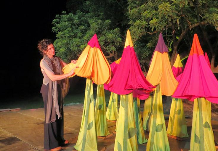 Portfolio - Costumes on stage